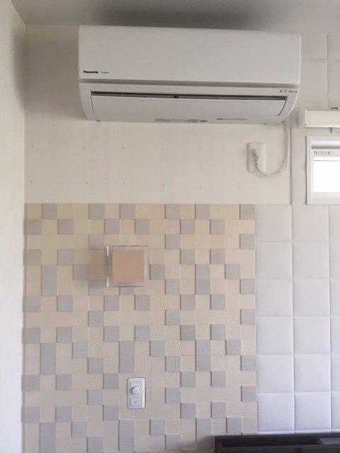 エアコン周り施工前